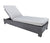 Chorus Armless Chaise Lounge outdoor wicker