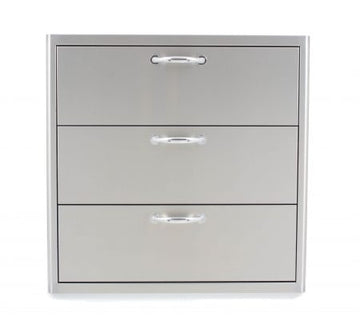 BLAZE 30 INCH TRIPLE ACCESS DRAWER  BLZ-30W-3DRW