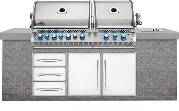 Napoleon Built In Prestige PRO825RBI_SS-3 Gas Grill
