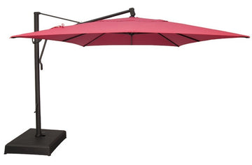 Treasure Garden 10 'x 13' Rectangle Cantilevers Umbrella  AKZRT