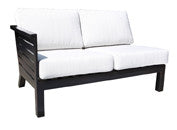 Apex Sectional by Cabana Coast - Left Module - Dark Rum