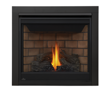 Napoleon Direct Vent Gas Fireplace - Ascent 3 B35 - 2 Inch Trim