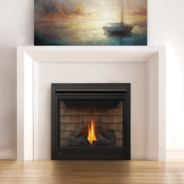 Napoleon Direct Vent Gas Fireplace - B35 Ascent 35