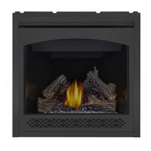 Napoleon Direct Vent Fireplace - Ascent 36 B36 - Heritage Decorative Front