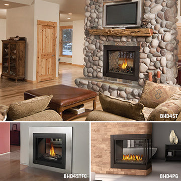 Napoleon Direct Vent Gas Fireplace - BHD4 Ascent Multi-view 40