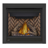 Napoleon Direct Vent Fireplace - Ascent X 36 GX36 - 2 Inch Trim