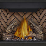 Napoleon Direct Vent Fireplace - Ascent X 36 GX36 - PHAZER Log Set