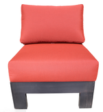 Aura Sectional Slipper Chair