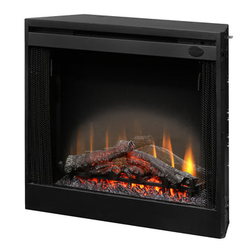 "33"" Slim Direct Wire Firebox - Dimplex Electric Fireplace"