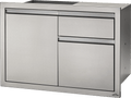 "Napoleon Built in Components - 36"" X 24"" Single Door & Waste Bin Drawer and Paper Towel Holder Combo"