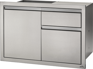 "Napoleon Built in Components- 42"" x 24"" Large Single Door & Waste Bin Drawer and Paper Towel Holder Combo"