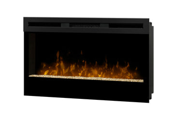 "34"" Wickson Wall Mount Electric Fireplace"