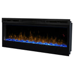 "Dimplex Prism 50"" Wall Mount Electric Fireplace Blue Light 
