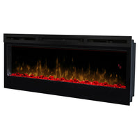 "Dimplex Prism 50"" Wall Mount Electric Fireplace - Red Light 