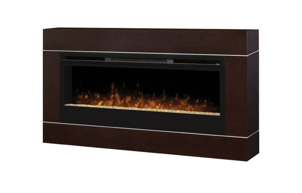 Dimplex Synergy Wall-Mount Electric Fireplace With Surrounding | Patio Palace
