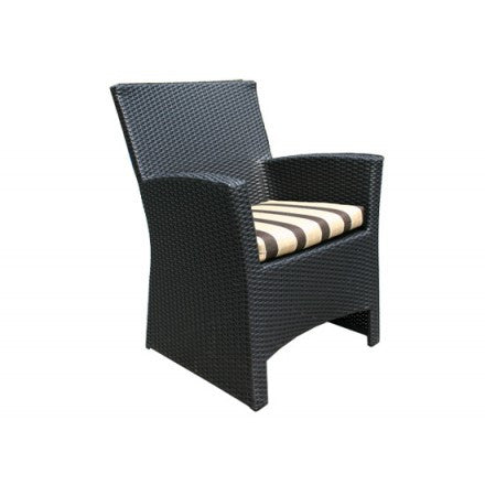 Bimini Dining Chair Saddle Wicker