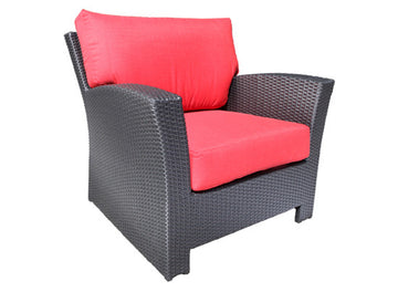 Bimini Deep Seat Lounge Chair by Cabana Coast - Saddle