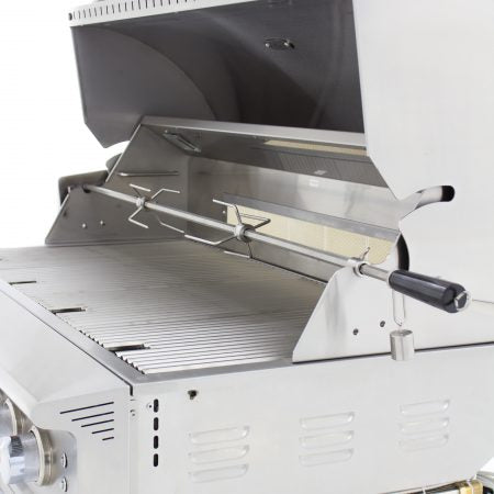 BLAZE PROFESSIONAL 44-INCH 4 BURNER BUILT-IN GAS GRILL WITH REAR INFRARED BURNER BLZ-4PRO-LP/NG
