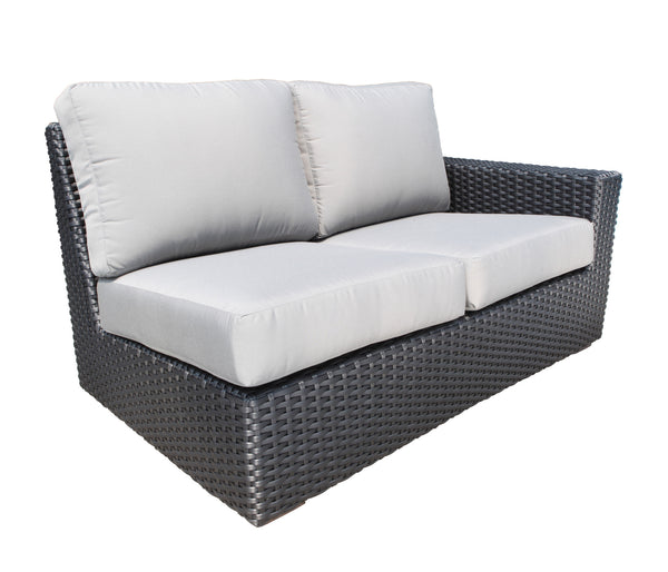Right sectional module outdoor Wicker furniture