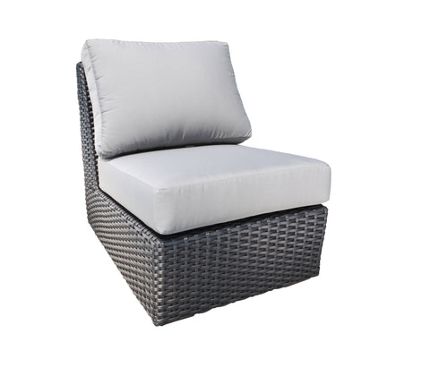 Brighton outdoor wicker slipper chair