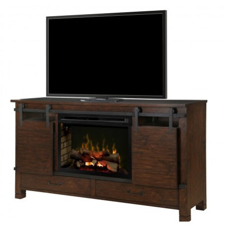 Austin Media Console Electric Fireplace