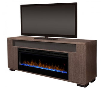 Haley Media Console Electric Fireplace