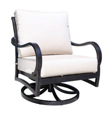 Carleton Lounge Swivel Rocker Chair