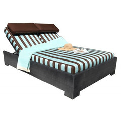 Chorus Deep Seat Square Outdoor Daybed by Cabana Coast
