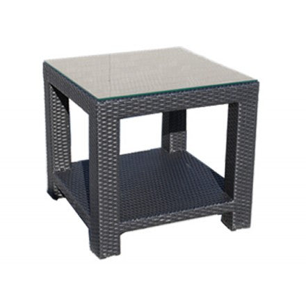 Chorus Deep Seat - Side Table Frame: Saddle