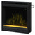 "dimplex 20"" Electric Fireplace Insert Glass Embers 