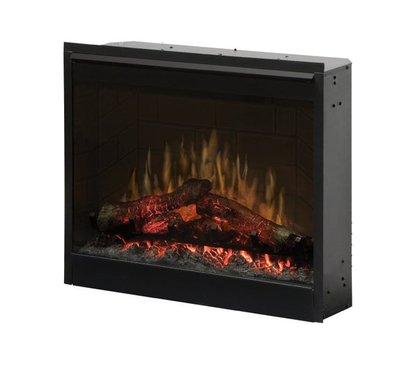 "26"" Dimplex Electric Fireplace self trimming insert Log burner 
