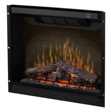 "dimplex 32"" electric fireplace insert with Log Burner 