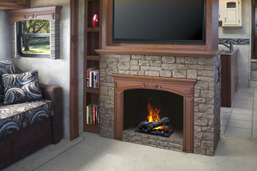 Opti-Myst Cassette Electric Fireplace