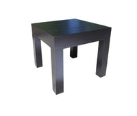 Delano Deep Seat Side Table Dark Rum Frame