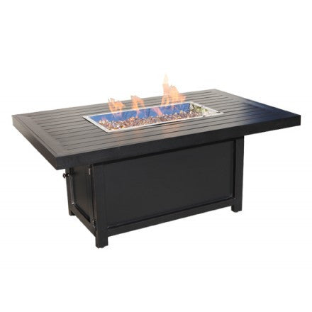 "58"" X 38"" Rectangular Monaco Outdoor Firepit"