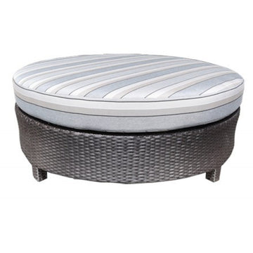 "Flight Deep Seat 48"" Round Ottoman by Cabana Coast"