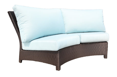 Flight Sectional Curved Sofa by Cabana Coast - Coffee