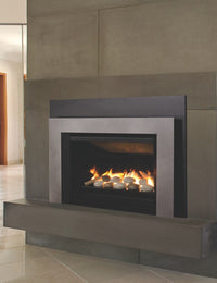 Valor G3.5 Gas Fireplace Insert - Rock Set