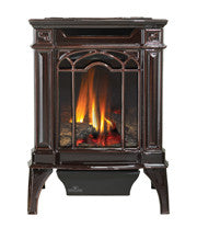 Napoleon Arlington Gas Fireplace Stove Majolica Brown Finish