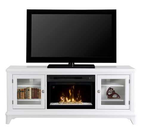 Dimplex Winterstein Media Console Electric Fireplace With Glass | Patio Palace
