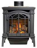 Napoleon Direct Vent Gas Stove Bayfield GDS25 - Black