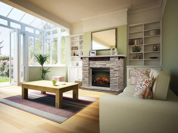 Dimplex Featherstone Mantel Electric Fireplace | Patio Palace
