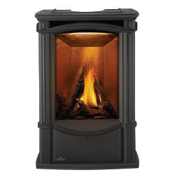 Napoleon Gas Stove Fireplace - GDS26 Metallic Black Finish