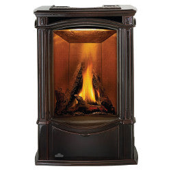 Napoleon Gas Stove Fireplace - GDS26 Porcelain Enamel Majolica Brown Finish