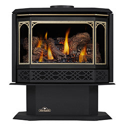 Napoleon Direct Vent Gas Fireplace - GDS50 Havelock - 24 Karat Gold Plated Finish