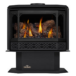 Napoleon Direct Vent Gas Fireplace - GDS50 Havelock - Metallic Black Finish