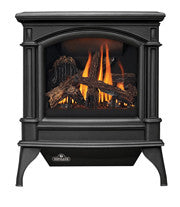 Napoleon Direct Vent Gas Fireplace Stove - GDS60 Knightsbridge - Painted Black Finish