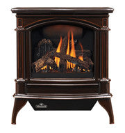 Napoleon Direct Vent Gas Fireplace GDS60 Knightsbridge Porcelain Enamel Majolica Brown Finish