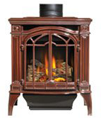 Napoleon Direct Vent Gas Stove Bayfield GDS25 - Bronze