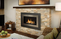 Valor Direct Vent H4 Series Gas Fireplace - Driftwood Set
